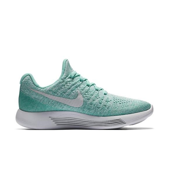 Nike Shoes - NIKE • Lunarepic Low Flyknit 2 Hyperturqoise NEW